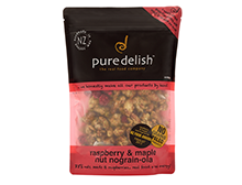 Raspberry & Maple Nut Nograin -ola