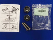ZODIAC BOMBARD BENCH SEAT SLIDERS BOLTS AND HAND NUTS Z60575