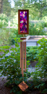 Wind Chime Bright Colors Outdoor Large Windchimes