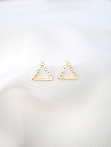 crystal trefoil earrings