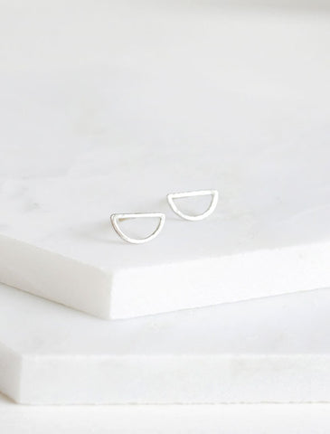 open triangle (up) earrings