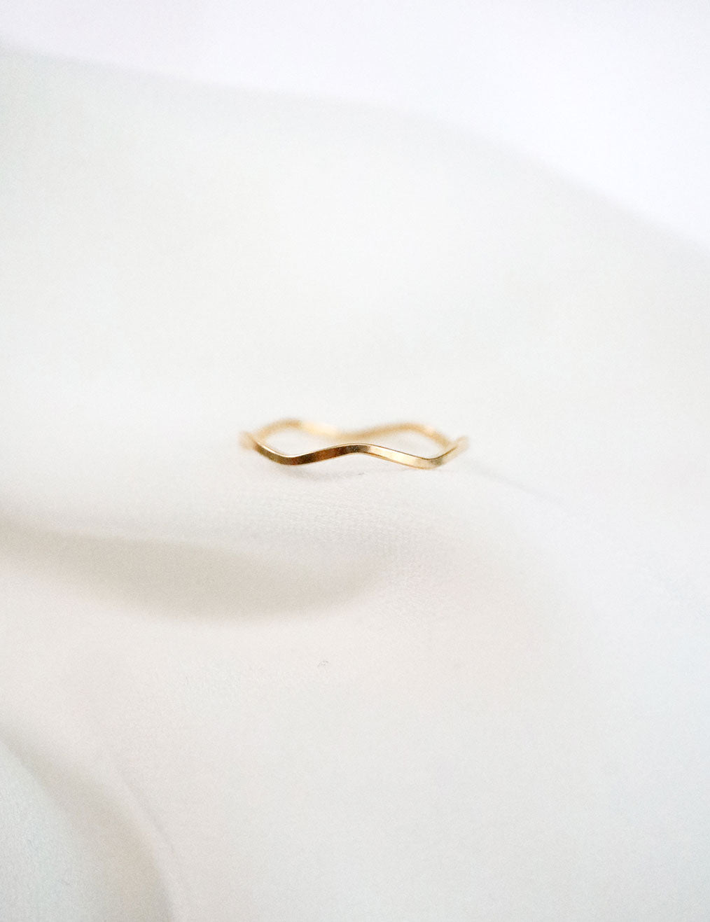 gold filled wave ring