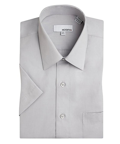 Solid Lilac Modern Fit Cotton Dress Shirt