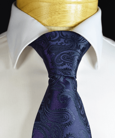 Solid Grey Necktie and Pocket Square
