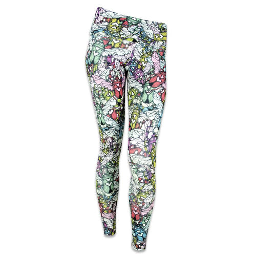 Ellie Paisley Love Bug Yoga Pants
