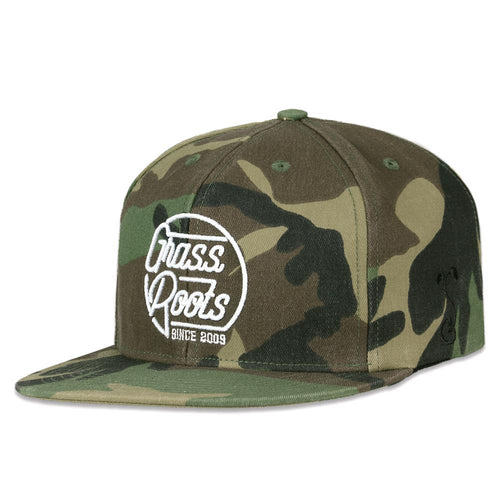 Made in USA Venice Beach Camo Snapback Hat