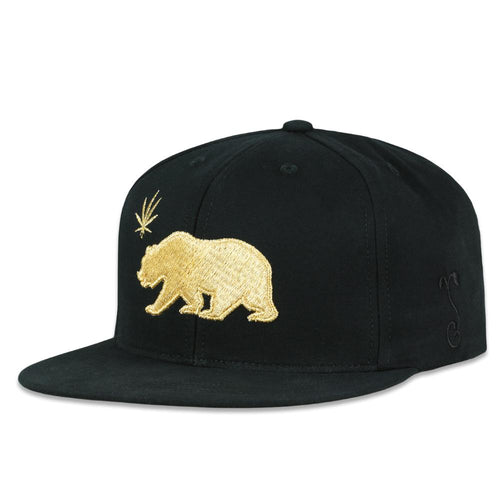 Made in USA Luxe Cali Bear Snapback Hat