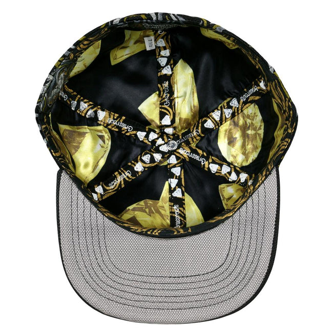 10th Anniversary Black Gold Fitted Hat