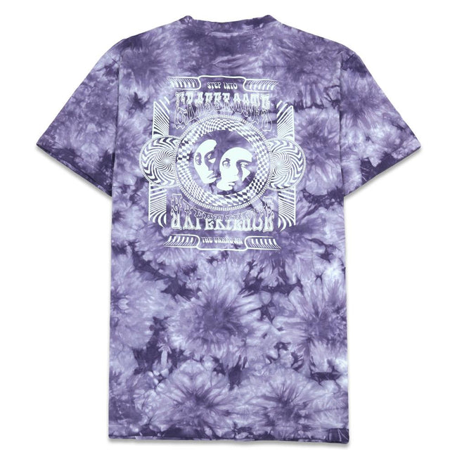 Grassroots Experience Purple Tie Dye T Shirt