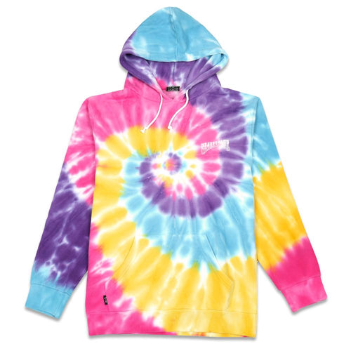 Grassroots Experience Rainbow Tie Dye Hoodie