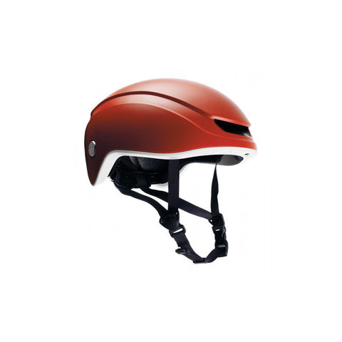 Brooks Island Helmet - Orange/Stone - Retro Road