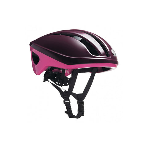 Brooks Harrier Helmet - Maroon/Pink - Retro Road