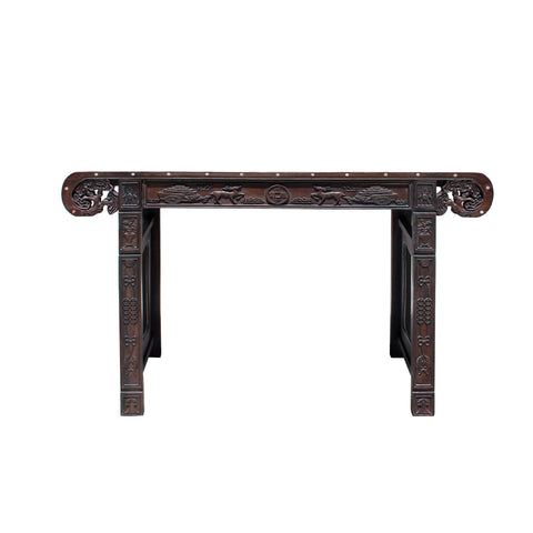 rosewood mother of pearl altar table