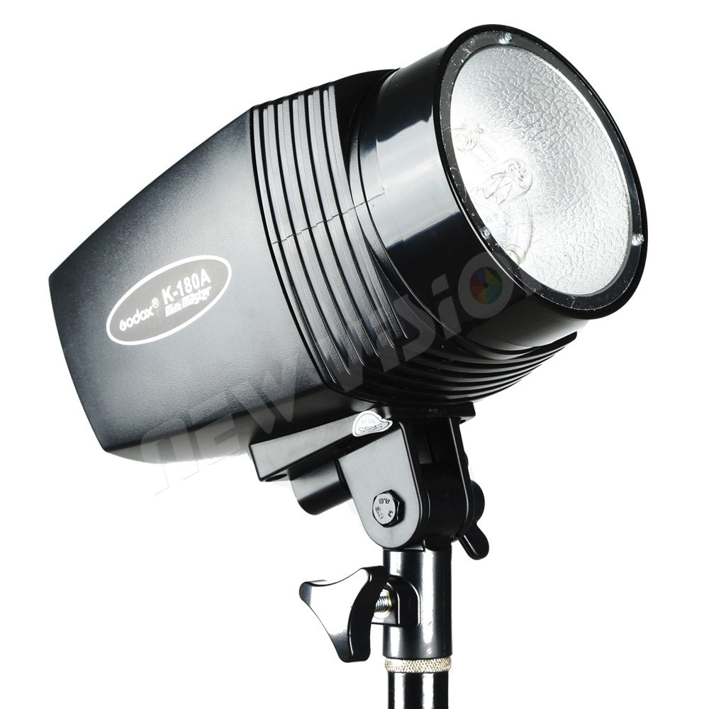 Godox K-180A 180W Monolight Photography Photo Studio Strobe Flash Light Head - Mode de vie Photography and Photo Presets