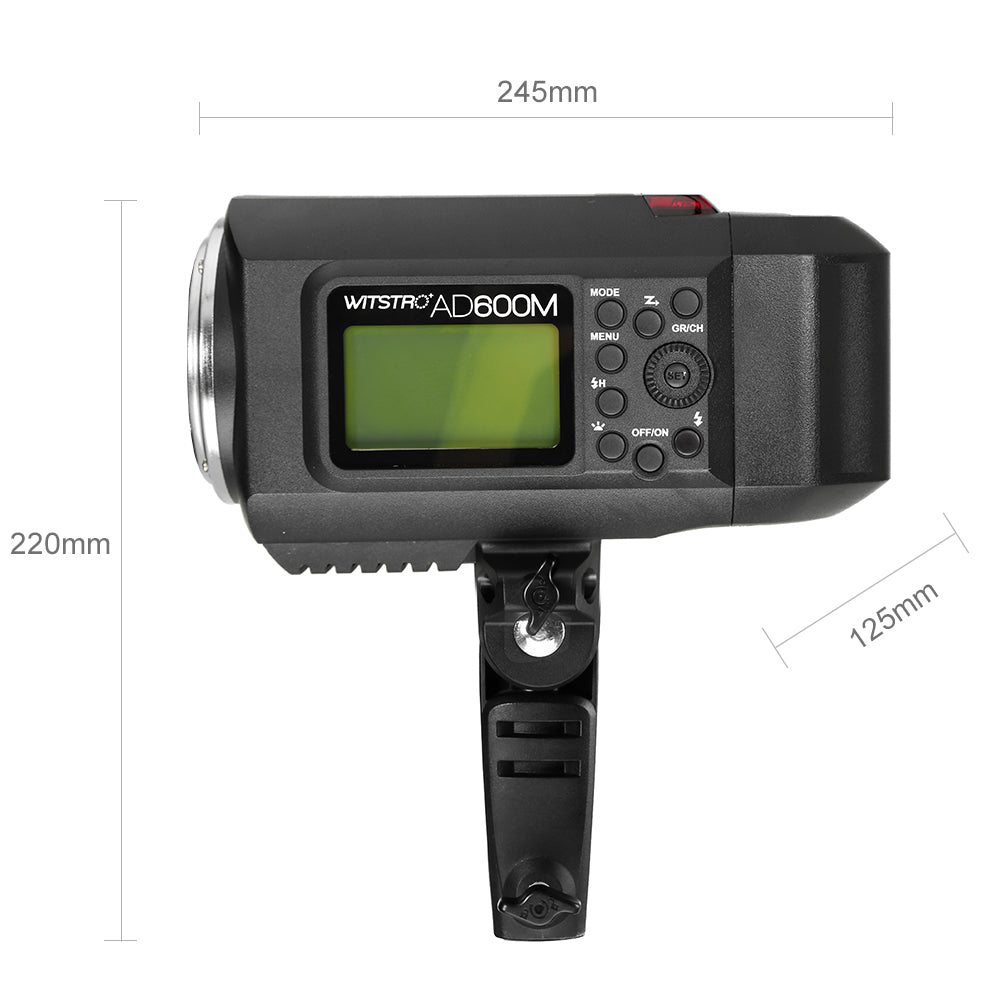 Godox Mount AD600M 600W HSS Powerful Outdoor Flash for Canon Nikon Sony Cameras - Mode de vie Photography and Photo Presets