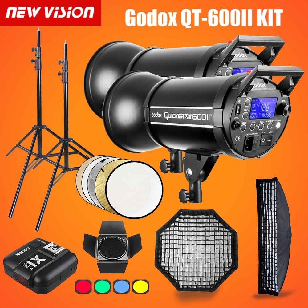 Godox QT600II 600WS GN76 1/8000s HSS Studio Flash - Mode de vie Photography and Photo Presets