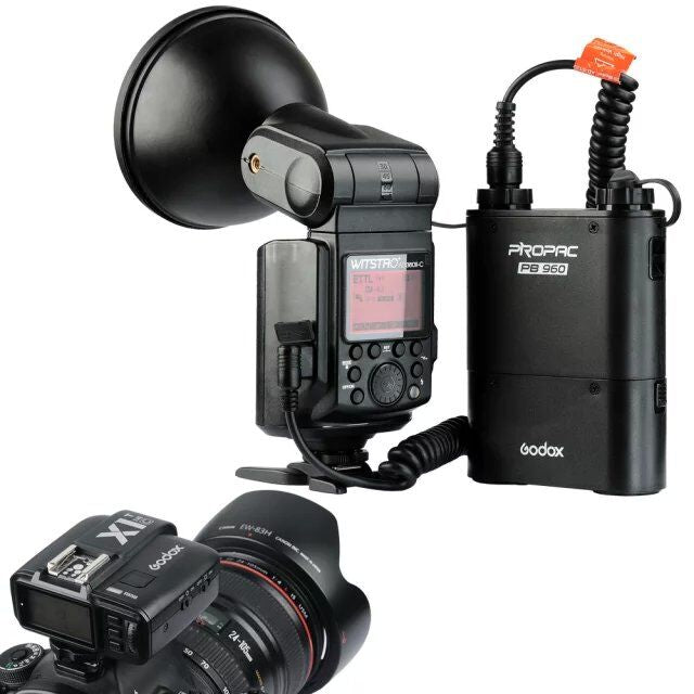 New Godox WITSTRO AD360II TTL 360W/S Wireless Power Control Outdoor Flash Light - Mode de vie Photography and Photo Presets