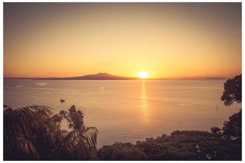 Rangitoto Island | NZ Art Print