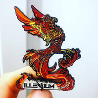 "Illenium ""Rise from the ashes"" Pin NEW RELEASE!"