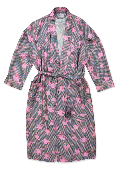 Rosehip Wave Dressing Gown - All At Sea Cph