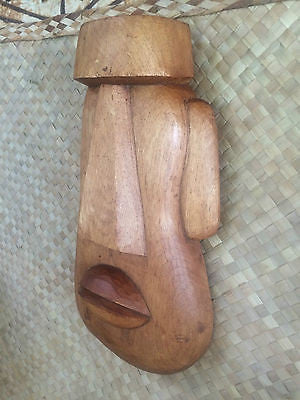 NEW Big Moai Tiki Mask, Designed by Doug Horne and produced  by Smokin Tikis
