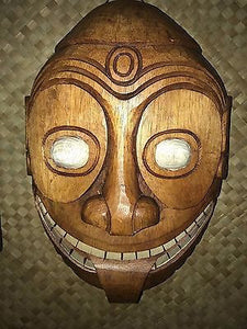 New PNG style Tiki Mask Smokin' Tikis Hawaii 1211f