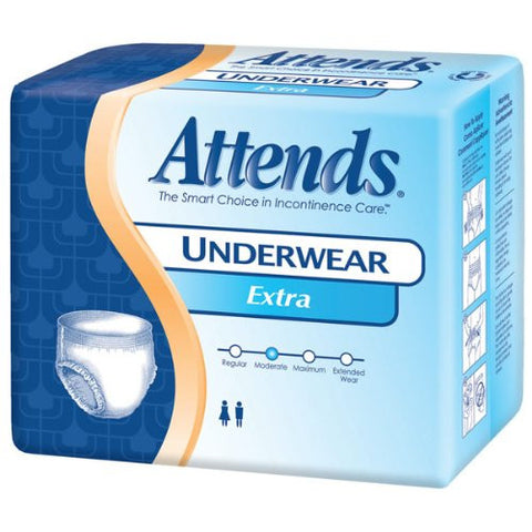 Attends Protective Underwear Extra Absorbency XXL