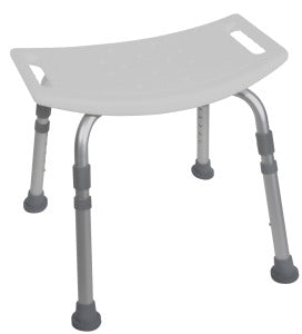 Deluxe Aluminum Shower Bench without Back
