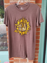 Let your Soul Shine tee - Candle Queen Candles