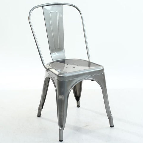 Coming 7/24/19 Cafe Chair GunMetal