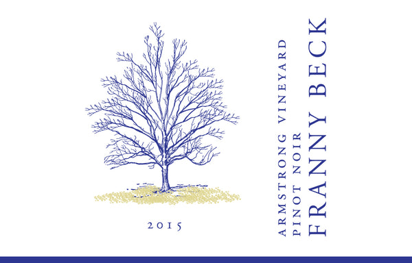 2015 Franny Beck Armstrong Vineyard  Pinot Noir Willamette Valley Oregon