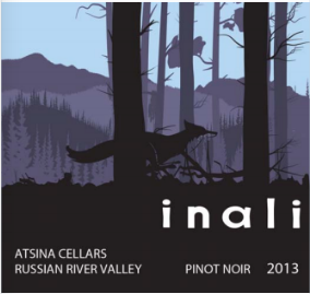 2013 Atsina Cellars Inali Pinot Noir Russian River Valley  California