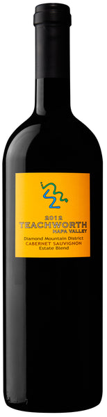 2012 Teachworth Napa Valley Rattlesnake Ridge Cabernet Sauvignon Diamond Mountain District CA