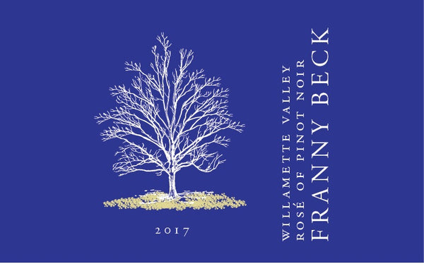 2017 Franny Beck  Willamette Valley Rosé of  Pinot Noir Willamette Valley Oregon