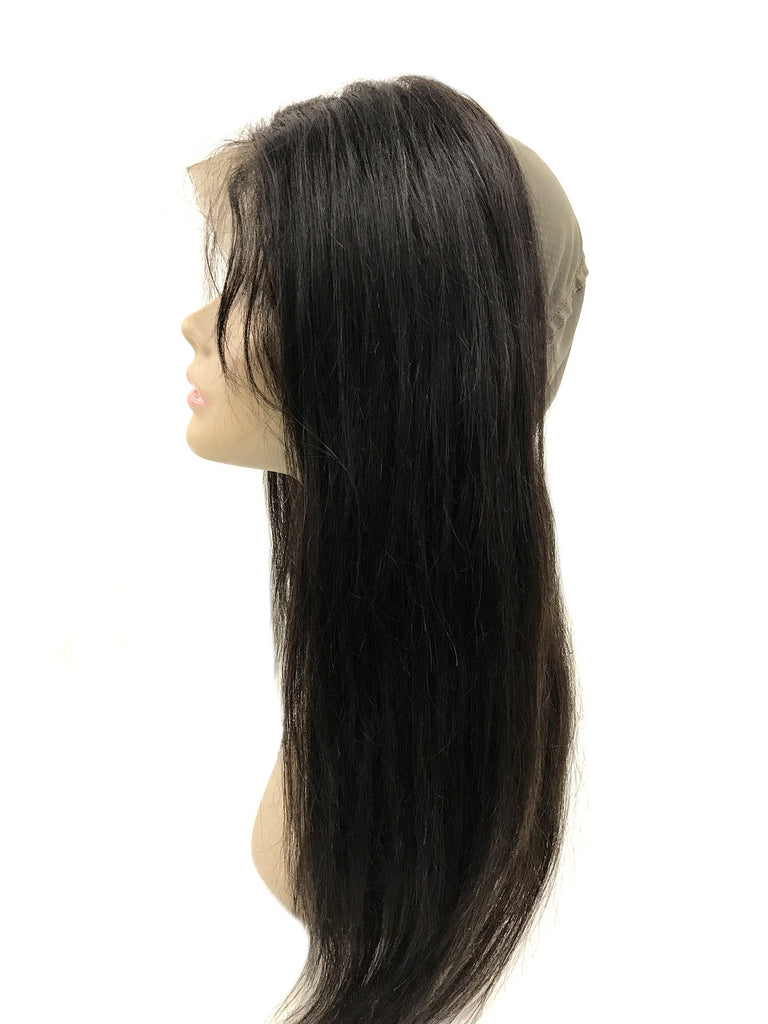 360 Remy Lace Frontal w/ Cap Straight Human Hair - eHair Outlet