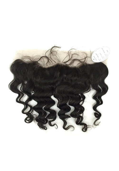 "Virgin 13""x4"" Deep Wave Lace Frontal - eHair Outlet"