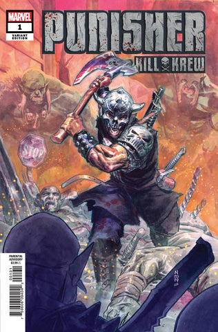 07/31/2019 PUNISHER KILL KREW #1 (OF 5) 1:25 VARIANT