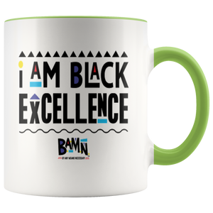Black Excellence Accent Mugs