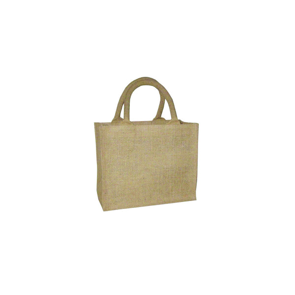 Hessian Tote Bag: Plain