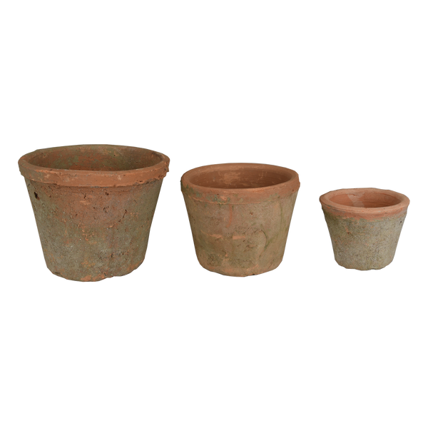 Terracotta: Antique Taper Pot