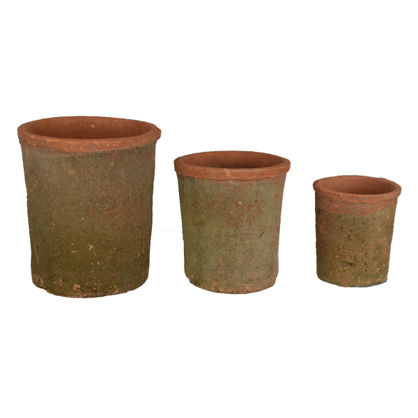Terracotta: Antique Cylinder Pot