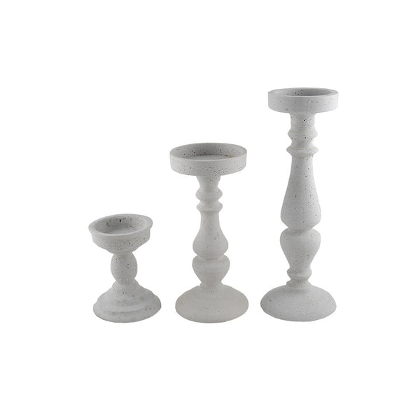 Concrete Look: Candle Stands