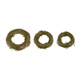 Moss and Twig Wreaths