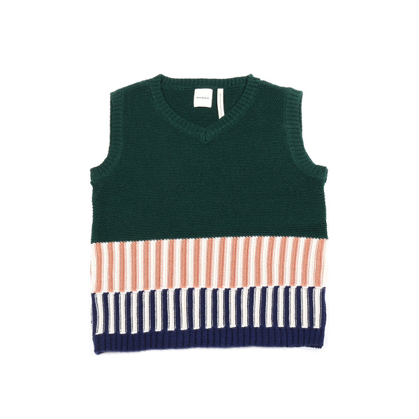 Colorful Vest Green
