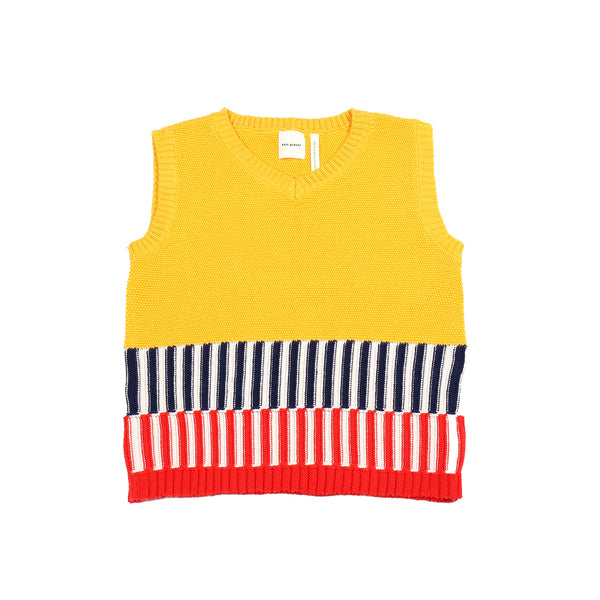 Colorful Vest Yellow