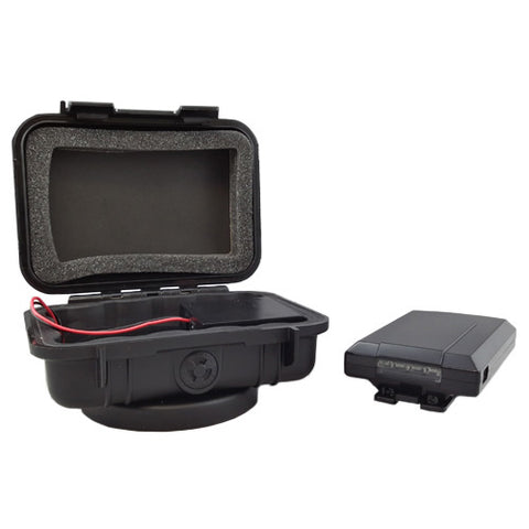Portable Live Tracking Device with 80 Hour Extended Power Pack Case.