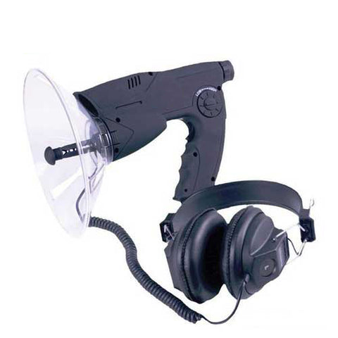 The uzi parabolic kit is great for bird watching, sporting events, watching TV and more.