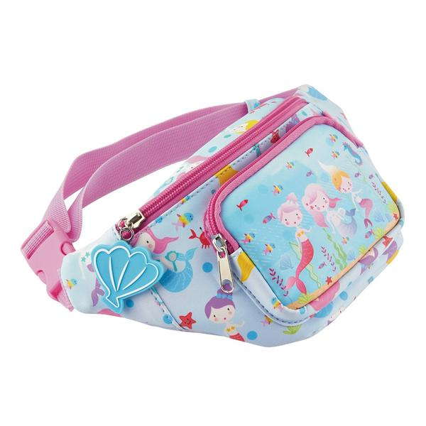 Kids Belt Bag | Mermaid - Kids Accessories - Poshinate Kiddos Baby & Kids Gifts | Mermaid pattern