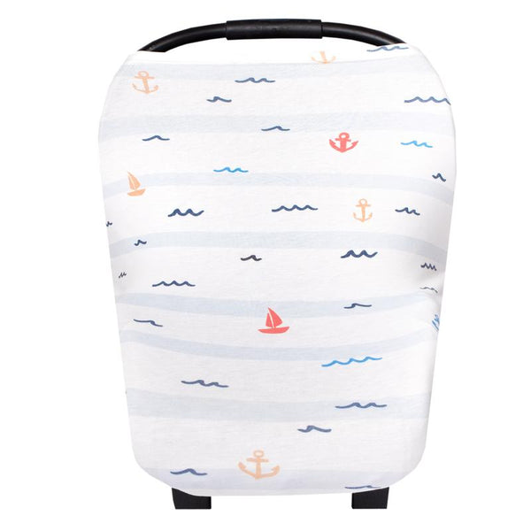 Multi Use 5 in 1 Baby Cover | Nautical