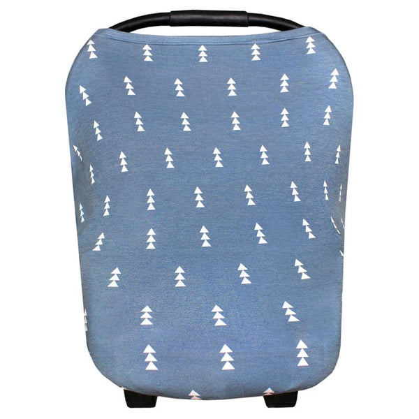 Multi Use 5 in 1 Baby Cover | Blue Arrows